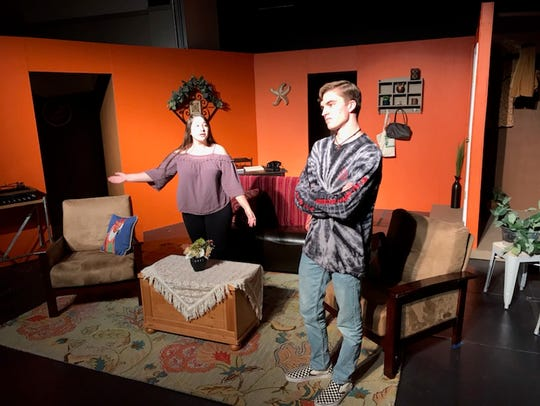Foothill High School's drama students perform the play