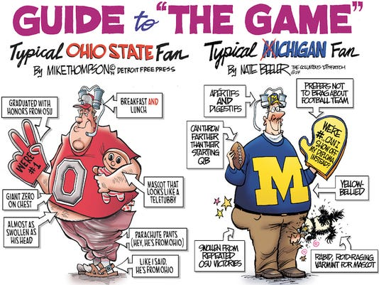 Michigan-Ohio State rivalry