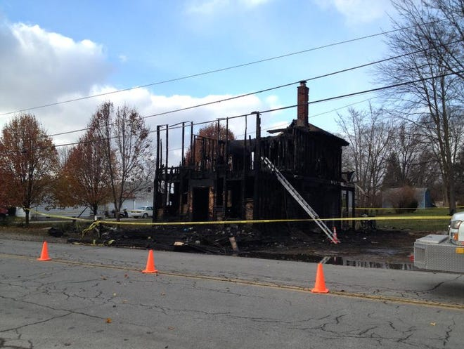 Two young children, ages 6 and 18 months, died when their Nineveh home caught fire Friday. Their mother was in critical condition.