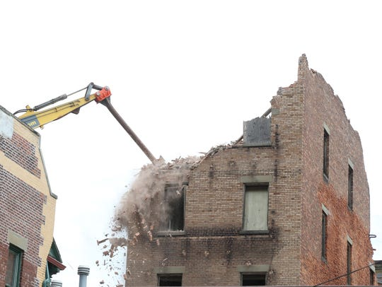Demolition of 19 Academy Street in the City of Poughkeepsie