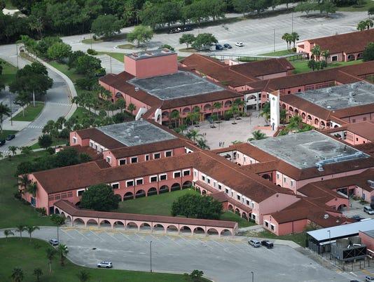 Sebastian River High School aerial