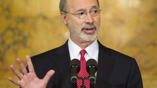 File Photo: Gov. Tom Wolf