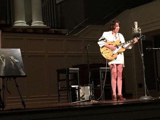 Local musician Tristen plays her short-story-inspired