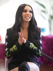 Reality television star Scheana Shay, from the show