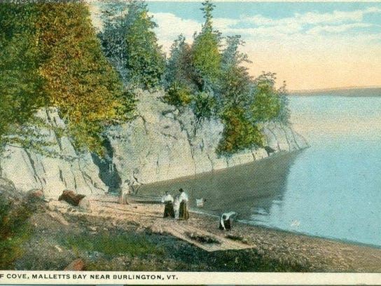 Postcard of Bluff Cove, Malletts Bay