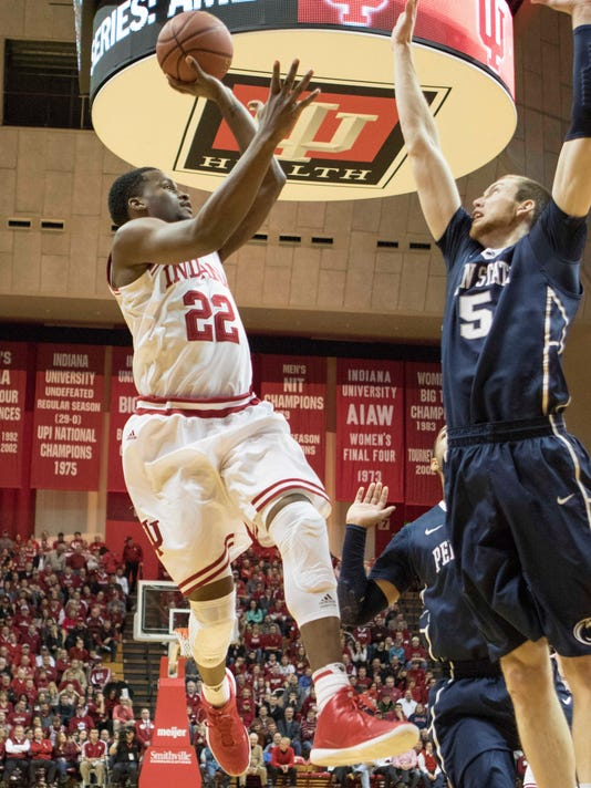 NCAA Basketball: Penn State at Indiana