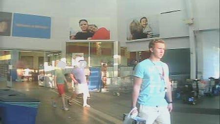 Walmart counterfeit suspect