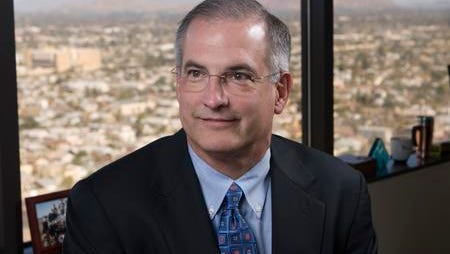 Don Brandt was recently promoted from chief financial officer to president at APS.