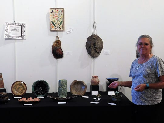 Karen Miskimins is the Virgin Valley Artists Association's
