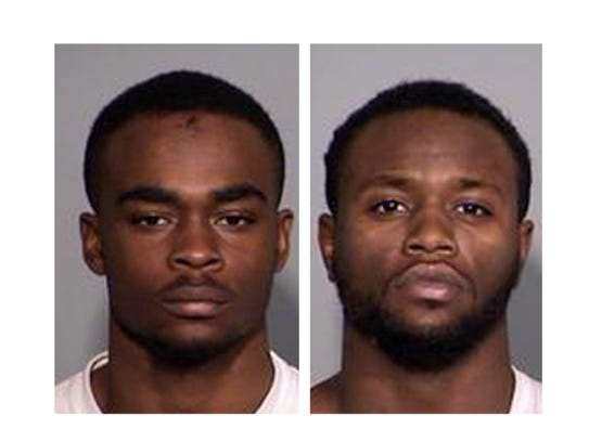 Larry Taylor (left) and Jalen Watson (right) were arrested