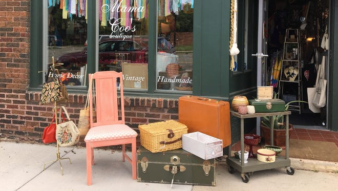 Mama Coo's Boutique is at the corner of Bagley and Trumbull, in Detroit's Corktown neighborhood