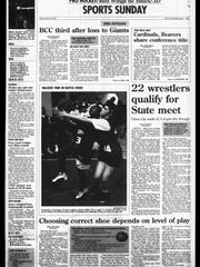 Battle Creek Sports History: Week of Feb. 23, 1997