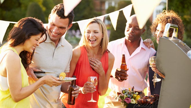 Being active outside barbecuing and drinking, means you need to workout that much more to burn off the calories.