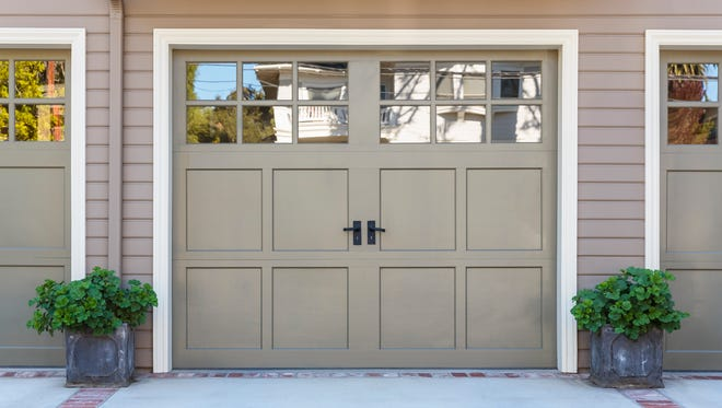 The vehicle door to the garage is the largest opening cut into the house and therefore is the most complex to frame and often fails when large amounts of weight from the roof are placed on it.