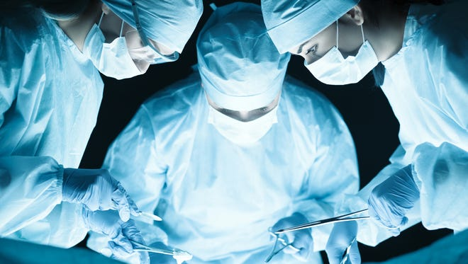 File photo of medical team performing operation.