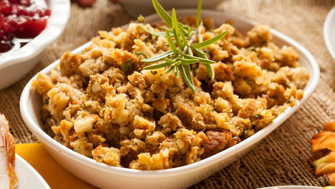 Hundreds of ways exist to make stuffing, or dressing, for holiday meals.