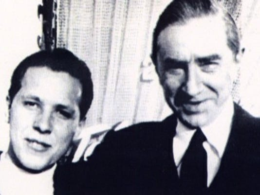 Conrad Brooks with Bela Lugosi