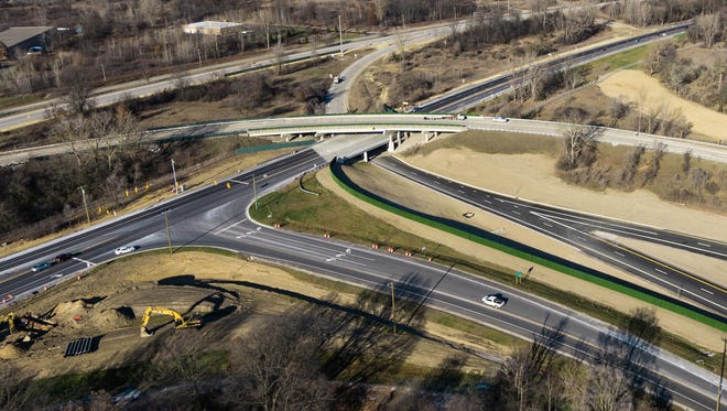 Aerial image of the American Center for Mobility 500-plus acre grounds