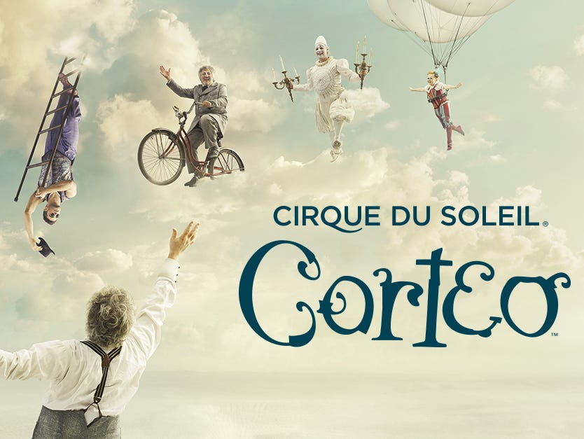 CORTEO is coming to Nashville July 26-29. We're giving away tickets every day*! Enter to win today.
