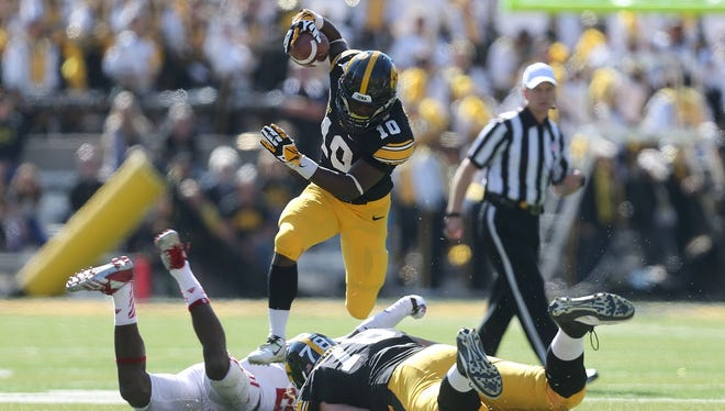 Jonathan Parker emerging as big-play threat for Hawkeyes