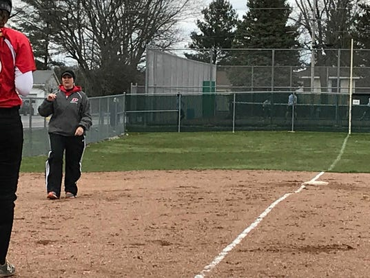 Pleasant softball Jenni Gardner
