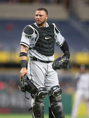 Welington Castillo, 31, is batting.270 with six home runs and 15 RBIin his first season with the White Sox.
