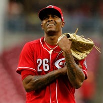 Cincinnati Reds place closer Raisel Iglesias on the disabled list with biceps injury