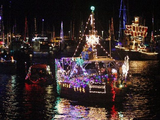 """Channel Islands Harbor will kick off the holidays with its 52nd annual holiday Parade of Lights at 7 p.m. Dec. 9. This year's theme is """"Fairy Tales Afloat."""""""