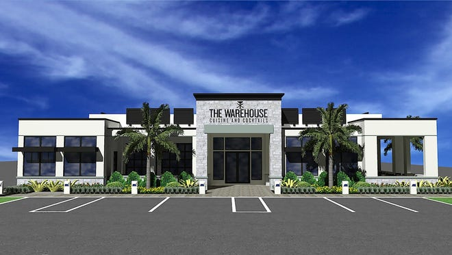 Ground was recently broken for The Warehouse restaurant planned for the second phase of Cameron Commons retail center on Immokalee Road just east of Collier Boulevard.