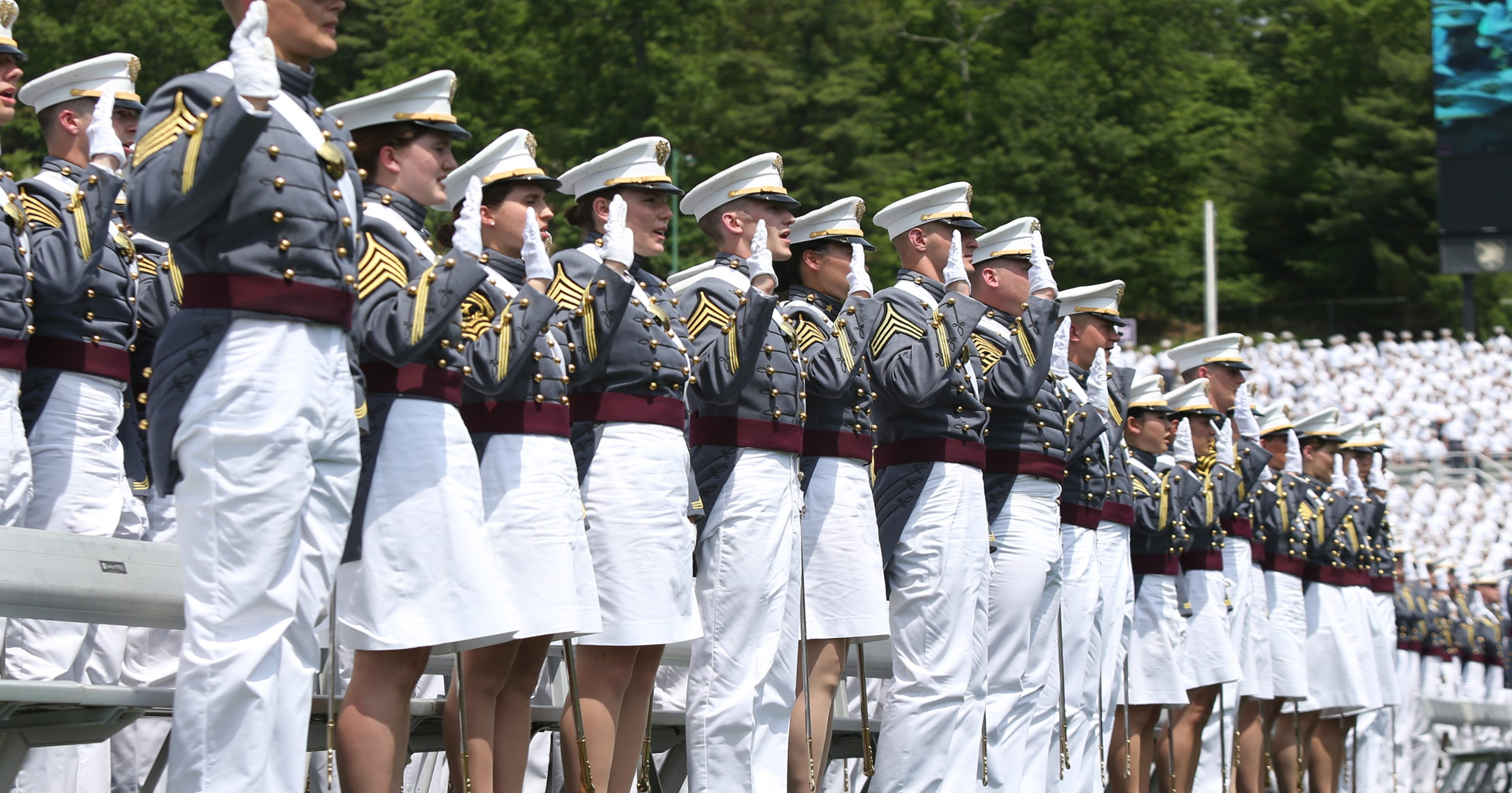 volunteers as a west point cadet for a day