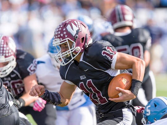 Quarterback Jaaron Hayek's performance helped lead Wayne Hills to victory over Mount Olive.