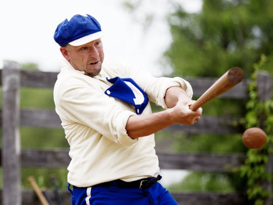 Old-time baseball takes the field again at Old World Wisconsin this weekend.