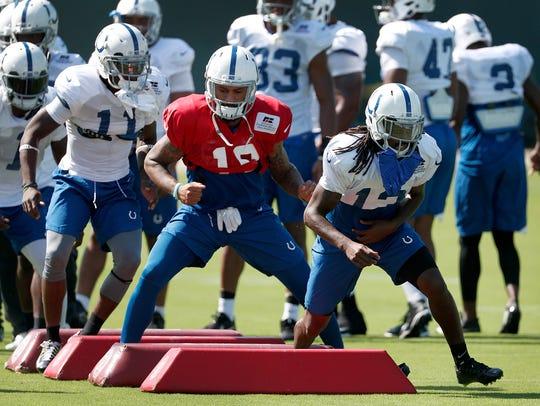 Indianapolis Colts wide receiver T.Y. Hilton (13),