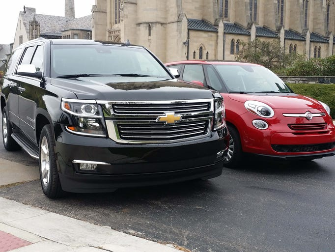 Contrasting two vehicles used by dignitaries on U.S.