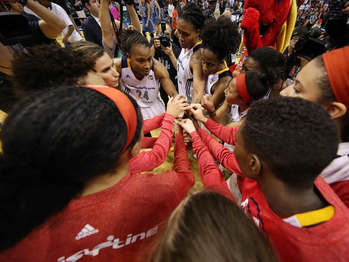 Game 4 in Indianapolis: Fever 75, Lynx 69 — Indiana