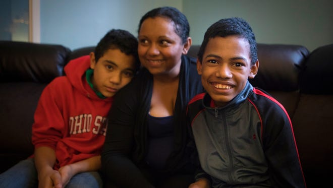 Thu., Dec. 7, 2017: Nelvin, 17, left, has sickle cell disease. He is photographed with his mom, Nelvia Acosta Zelaya and his brother, JosŽ, 13. They are asking for a wheelchair ramp for a van for Nelvin.