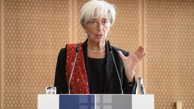 International Monetary Fund chief Christine Lagarde will preside over the agency's spring meetings in Washington this week.
