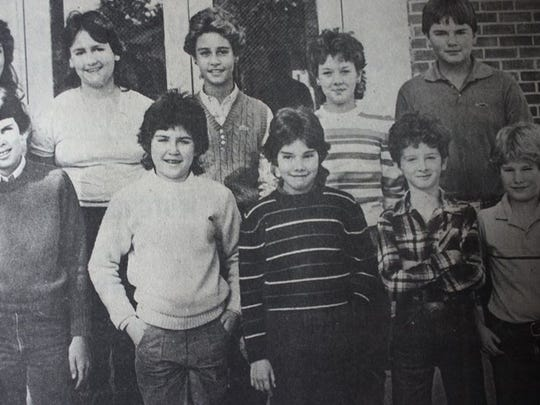 These 10 Sturgis Middle School students qualified for the 1983 Talent Search that was conducted by Duke University.