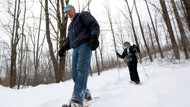 Starting this weekend, it might be a good time to get out the snowshoes.
