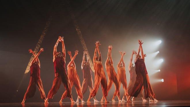 The Koresh Dance Company, in performance.