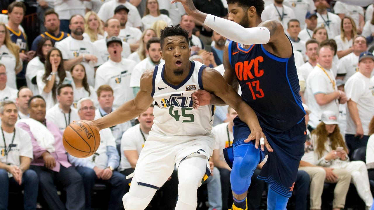 d91e656f3df1 NBA playoffs  Jazz and Rockets take commanding 3-1 series leads