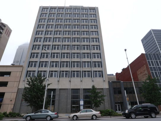 The office building containing the headquarters for