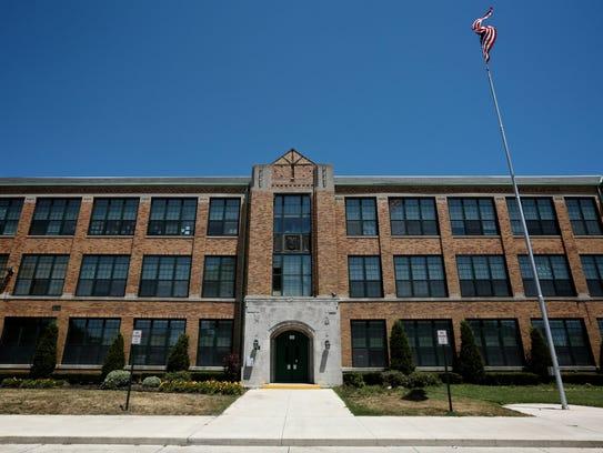 East Detroit High School in Eastpointe.