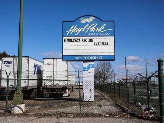 Hazel Park Raceway closed Thursday, April 5, 2018, after 70 years of operation to the surprise of employees and the community. The photo was taken on Thursday, April 5, 2018.