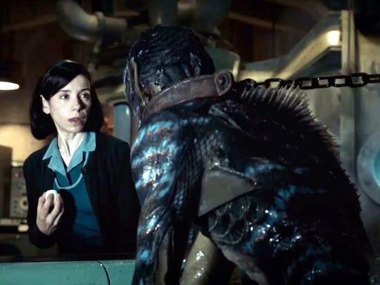 La película 'La Forma del Agua' de Guillermo del Toro tiene 13 nominaciones al Óscar.