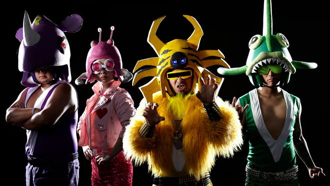 Peelander-Z wants to entertain you.