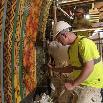 Artisans giving Detroit's historic Fisher Building a makeover