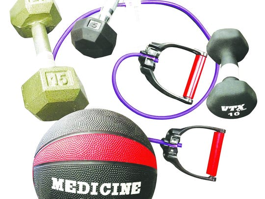 """Pass on the machinery and opt for """"functional fitness"""""""