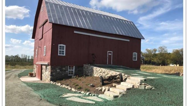 """Buck Family Barn in Ludington is one of six barns that were chosen for the 2020 """"Barn of the Year"""" Awards by the Michigan Barn Preservation Network. The MBPN is now accepting nomintions for the 20201 awards."""