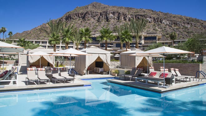 The Phoenician resort has completed a major makeover in time for its 30th anniversary.  The swimming pools, a splashpad for children, along with a tree fort and a water slide, a new athletic facility and spa, plus a poolside restaurant are all upgrades.